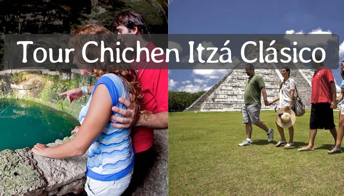 Chichén Itzá Clásico con nado en cenote