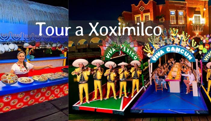 Tour Xoximilco desde Cancún