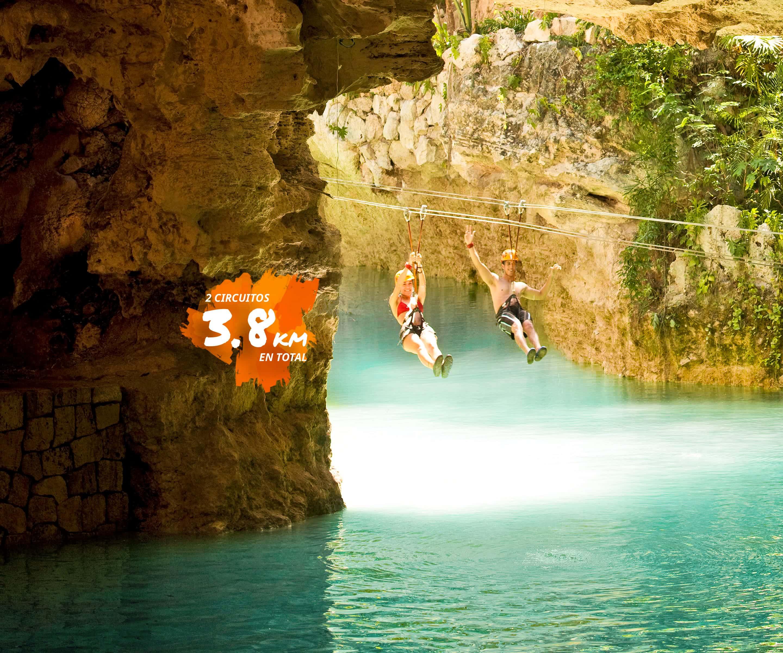 Tour Xplor desde Cancún y Riviera Maya