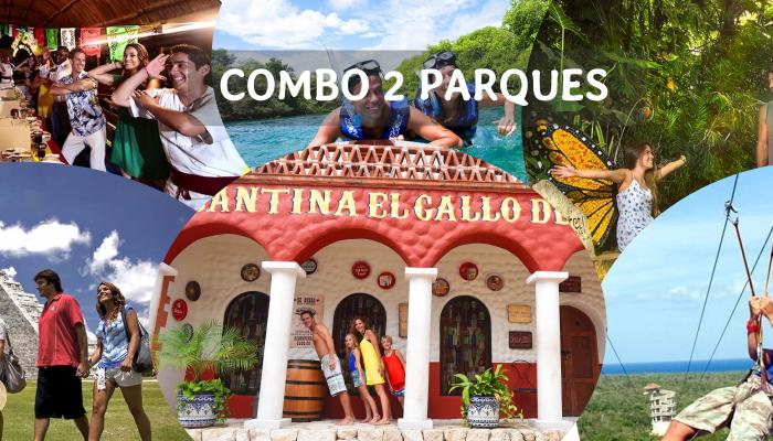 Combo 2 Parques desde Cancun y Riviera Maya