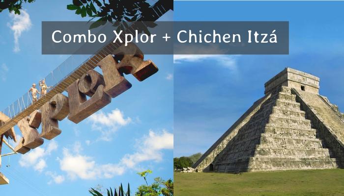 Combo Xplor y Chichén Itzá