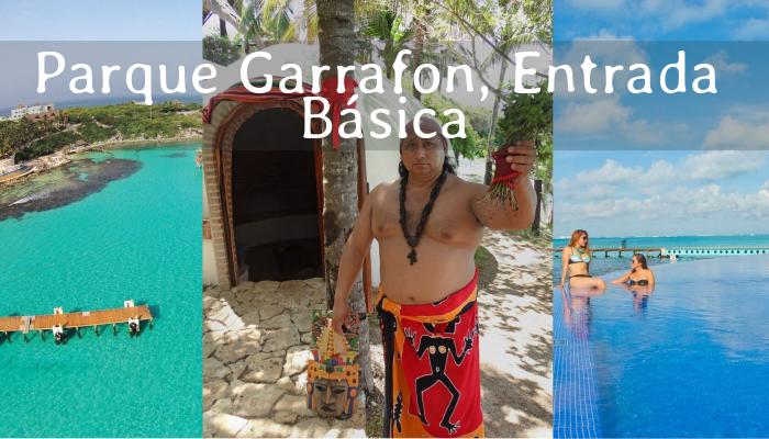 Entrada Básica a Parque Garrafón en Isla Mujeres
