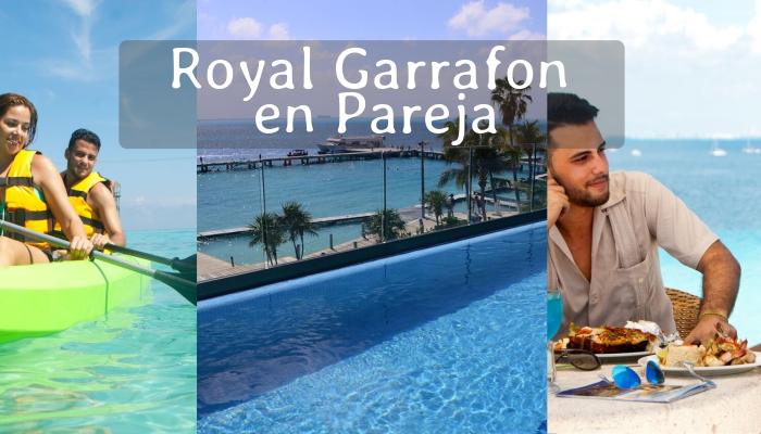 Parque Royal Garrafón por Pareja en Isla Mujeres
