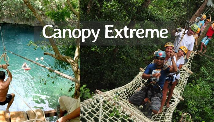 Canopy Extreme Tour en Cancún