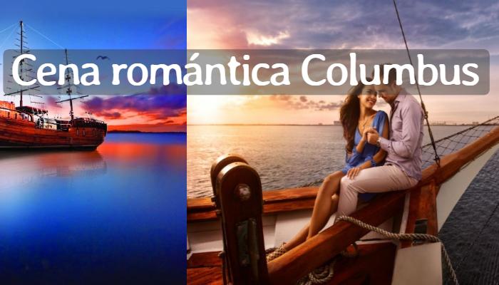Cena Romántica Columbus por Pareja