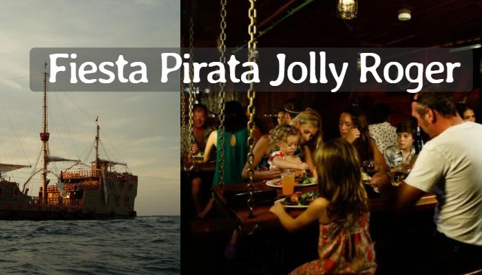 Cena Barco Pirata Jolly Roger en Cancún