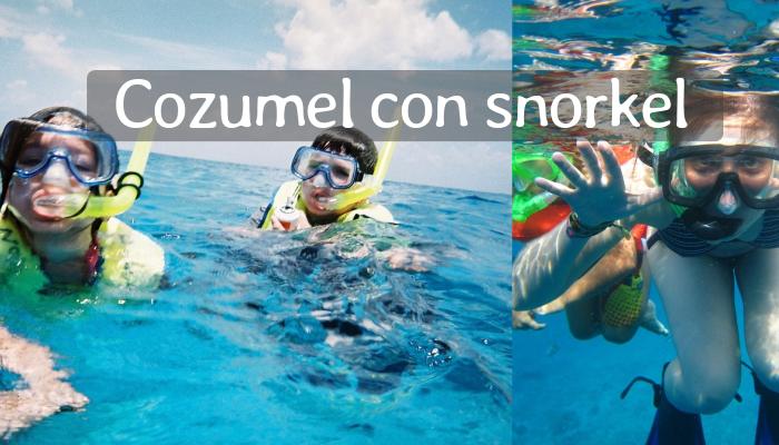 Tour de Snorkel en Cozumel