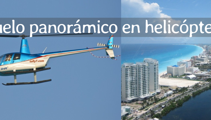 Vuelo Panorámico en Helicóptero