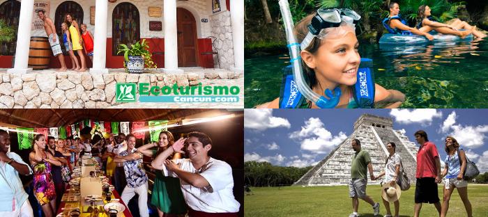 Combo 3 Parques más Isla Mujeres en Catamarán.