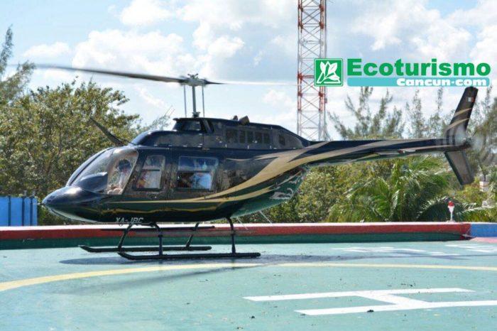 Vuelo Panorámico en Helicóptero sobre Cancún