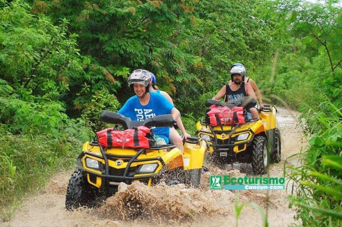 Tour de Aventura en Cuatrimotos por la Ruta de los Cenotes