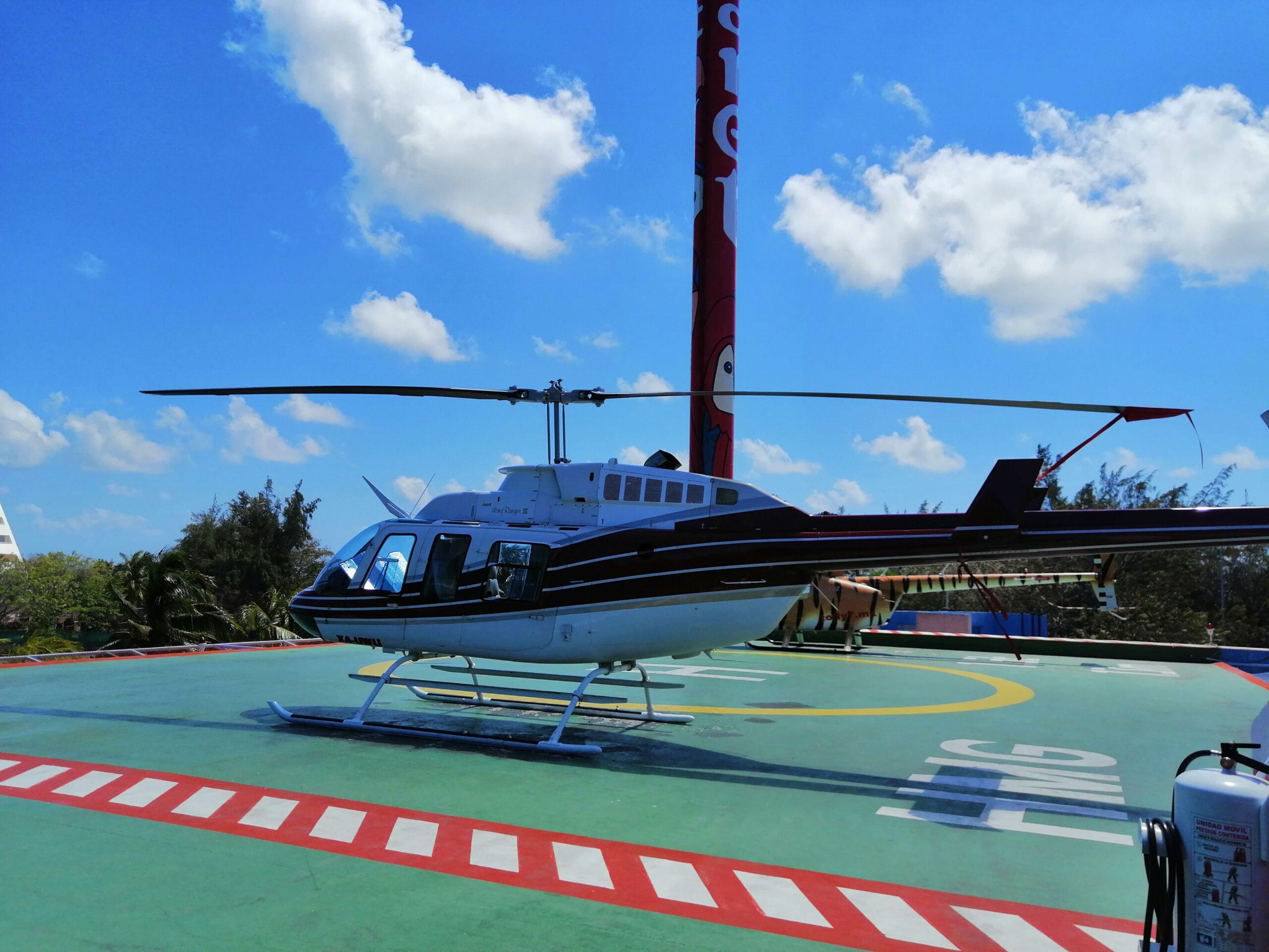Paseo en Helicóptero en Playa del Carmen – 24 minutos